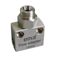 ema Square Tee-Junction for Low Flow Rate